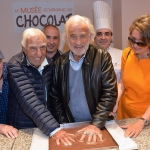 Wall of fame choco story Jean-Paul Belmondo et Charles Gerard
