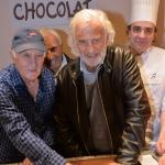 Wall of fame choco story Jean-Paul Belmondo et Remy Julienne