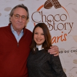Wall of fame choco story Severine Ferrer et Philippe Lavil